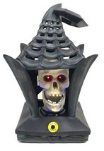 Halloween Haunted House Lights & Animated Lantern Skeleton Skull Prop No... - $1.086,82 MXN