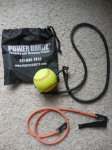 Power Bandz Pitching and Throwing Trainer Softball stretch bands 2 stren... - $16.99