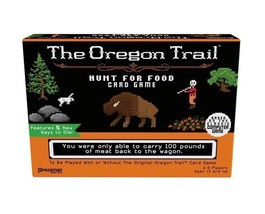 The Oregon Trail Hunt For Food Card Game - Family Game New - $14.69