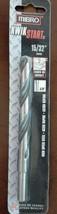 "Mibro 15/32 High Speed Steel Drill Bit 3/8"" shank - $8.17"