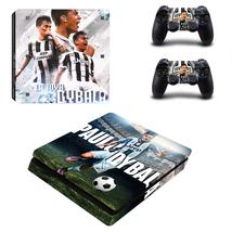 PS4 Slim Console Controllers Paulo Dybala La Joya FC Vinyl Decal Skin Stickers - $13.50