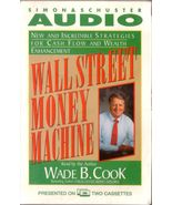 Wall Street Money Machine Cassettes W. Cook Incredible Strategies for Ca... - $3.99