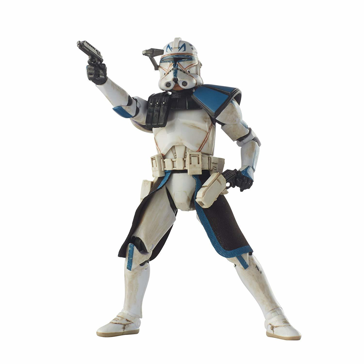 Star Wars The Black Series Clone Captain Rex, 6-Inch Action Figure, Hasbro, 4+