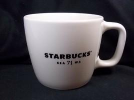 Starbucks white coffee mug SEA71WA 12 oz 2018 - $12.13