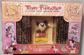 Disney Tiny Theatre 1993 Vintage 10 Little Golden Books NIB - $29.95