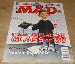 Mad Magazine #345 May 1996 Congratulations Class of '96 - $9.65