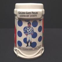 Golden Gate Fields Legend Jockeys Stein Mug Ladbroke Horse Racing - $25.74