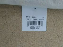 Avanti Linens Sweet Home Set of 2 Towels - Ivory  new with tags  image 3