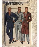 Butterick 3037 Mens Robe & Pajamas Sewing Pattern Size L - XL - $15.00