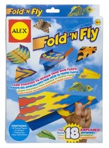 Fold N Fly Paper Airplanes Kit - $6.97