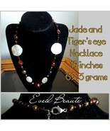 Jade and Tiger's eye Necklace - New - $20.00
