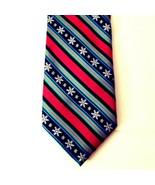 Hallmark Christmas Holiday Traditions Tie Snowflakes Diagonal Striped NWOT - $24.14