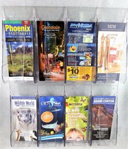 Deflecto Stand Tall Brochure Display Literature Rack Wall Mount Leaflet ... - $48.50