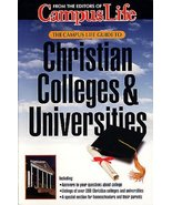 The Campus Life Guide to Christian Colleges & Universities Moring, Mark - $5.16