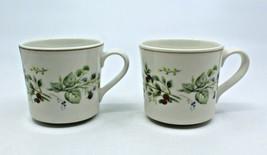 Royal Albert Bitter Sweet Country Garden Coffee Tea Mug Cups Only Set of... - $40.85