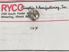 LOT OF 16 NEW RYCO 155-1096-2 SPRAY NOZZLE TIPS image 1