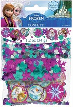 Disney Frozen Confetti Birthday Party Supplies Decorations Anna Elsa Ola... - $6.93
