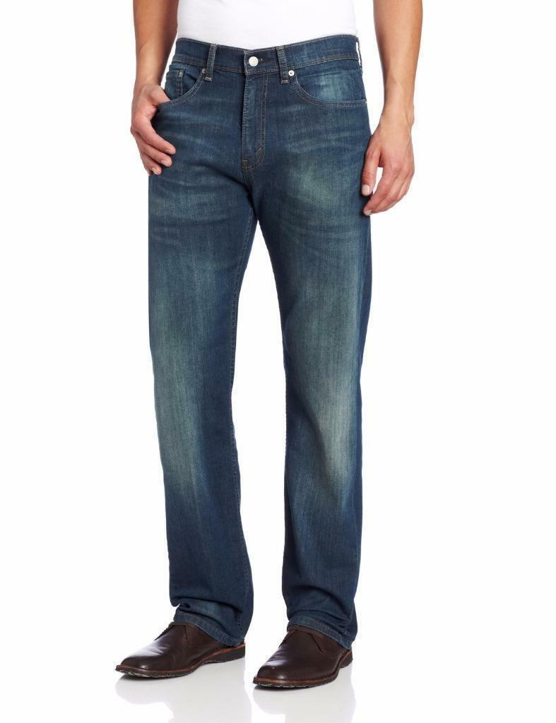 Levi's Strauss 505 Men's Original Straight Leg Cash Jeans Pants 505-1064
