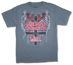 Ozzy Osbourne-Ozzman Cometh-3X Gray  T-shirt - $22.24