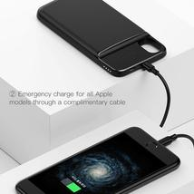 Baseus 5000mAh QI Wireless Charger Case External Battery Wireless Charging image 2
