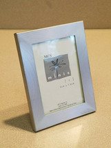 """MCS Minis 2"""" x 3"""" Brushed Silver Metalic Picture Frame (NEW) - $5.89"""