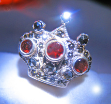 HAUNTED RING QUEEN'S LEGACY OF WEALTH & PROTECTION MAGICK OFFERS 925 7 S... - $89,007.77