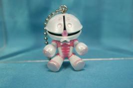 Bandai Mobile Suit Gundam MS Pops 01 Mini Figure Keychain Acguy White Pearl - $19.99