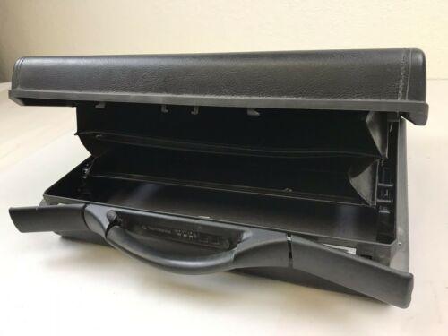 Samsonite Classic Smart II Black Briefcase Attache Combination Hard Shell