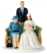 Royal Doulton Her Majesty Royal Christening Figurine NH5809 Queen 90th Birthday - $219.90