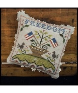 Freedom #5 The Early Americans Series cross stitch Little House Needleworks - $5.40