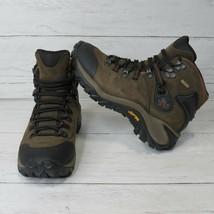 Merrell Phaser Peak Waterproof Hiking Boots Womens 6 Standard Width Brow... - $48.95