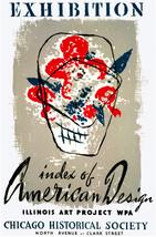 Chicago American Design POSTER.Stylish Graphics.Vintage Room Decor.334 i - $10.89+