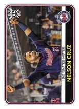 2020 Topps Big League #4 Nelson Cruz NM-MT Twins - $0.75