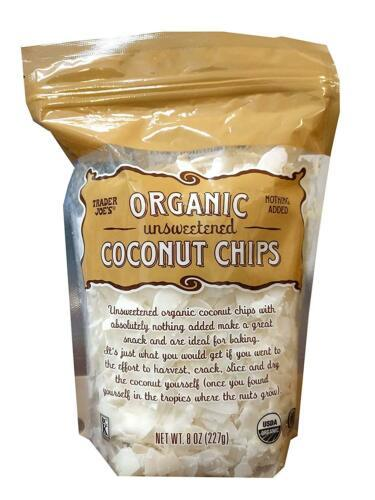 Primary image for Trader Joe's Organic Unsweetened Coconut Chips (Pack of 1)