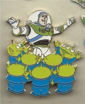 Disney Toy Story Buzz and Alien Drums  Authentic apan Pin/Pins - $69.99