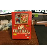 1990 Score Football Trading Cards Series 1 - 36 Pack Factory Sealed Wax Box - $12.50
