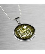 Express Your Love Gifts My Faith is Bulletproof Handmade Stainless Steel... - $49.45