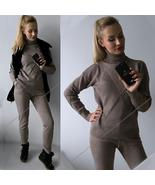 Women sweater suit and sets Casual Autumn Winter 2PCS Track Suit Casual ... - $141.25+