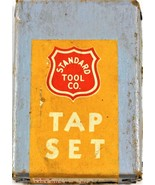 Vintage Standard Tool Co Taps 3/8-16 GH-3 NC HS Set of Three - $19.79
