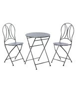 Hammered Textured Patio Set - £142.66 GBP
