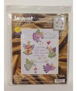 Janlynn Cross Stitch Craft Kit Little Angels New - $22.97