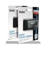 2 * Hi Capacity 2000mAh Vivitar LP-E6 Li-Ion Battery - Canon EOS 6D 60D ... - $35.32