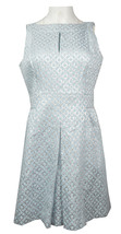 Lauren Ralph Lauren Womens Sz 12P Geometric Blue Dress 2335-3 - $74.04