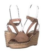Kate Spade New York Felipa Ankle Strap Wedge Sandals 496, Roasted Peanut... - $46.07