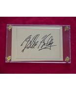 BILLIE HOLIDAY  Autographed Signed Signature Cut w/COA - 30647 - $475.00