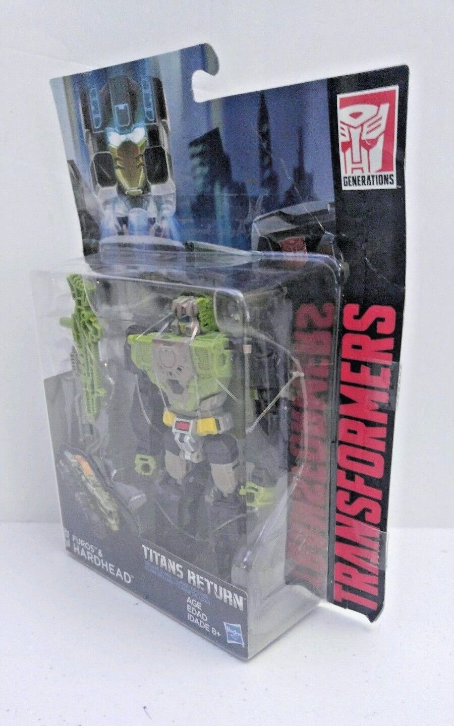 Transformers Generations Titans Return Deluxe Furos & Hardhead