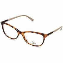NEW LACOSTE L2791 214 Havana Eyeglasses 54mm with Case - $84.10