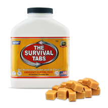 Emergency food protein substitute survival tabs 15 days Butterscotch - $44.95