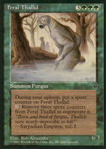 Magic: The Gathering: Fallen Empires - Feral Thallid - $0.25