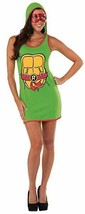LICENSED TEENAGE MUTANT NINJA TURTLES RAPHAEL HOODED DRESS ADULT COSTUME... - $18.59